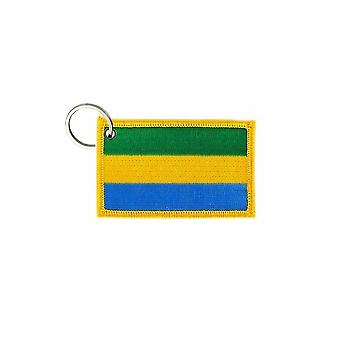 Cle Cles Clef Brode Patch Ecusson Badge Flag Gabonese