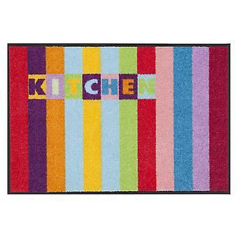Salon Leeuw voet mat wasbaar stad keuken 50 x 75 cm, SLD0337-050 x 075