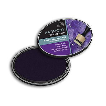 Harmonie door spectrum Noir water reactieve kleurstof Inkpad-geplet fluweel