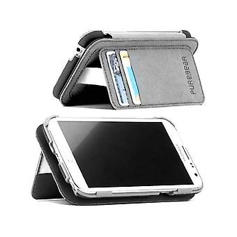 PureGear Folio Callet Case with Kickstand for Samsung Galaxy Note 2 - Gray