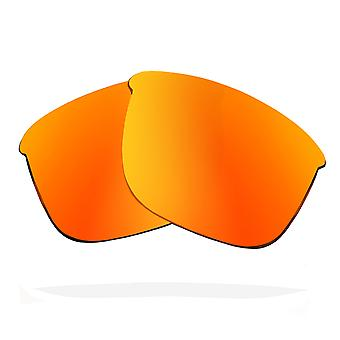 SEEK Replacement Lenses Compatible for OAKLEY Thinlink Non-Polarized Red Mirror