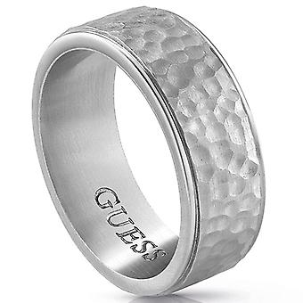 Guess hombre Acero inoxidable anillo size 24 UMR29004-64