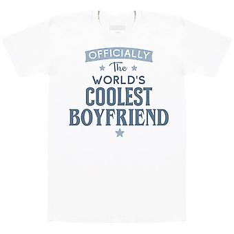 Offically The World's Coolest Boyfriend - Mens T- Shirt