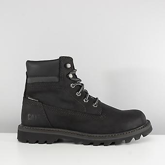 CAT Lifestyle Deplete Mens Nubuck Waterproof Boots Black