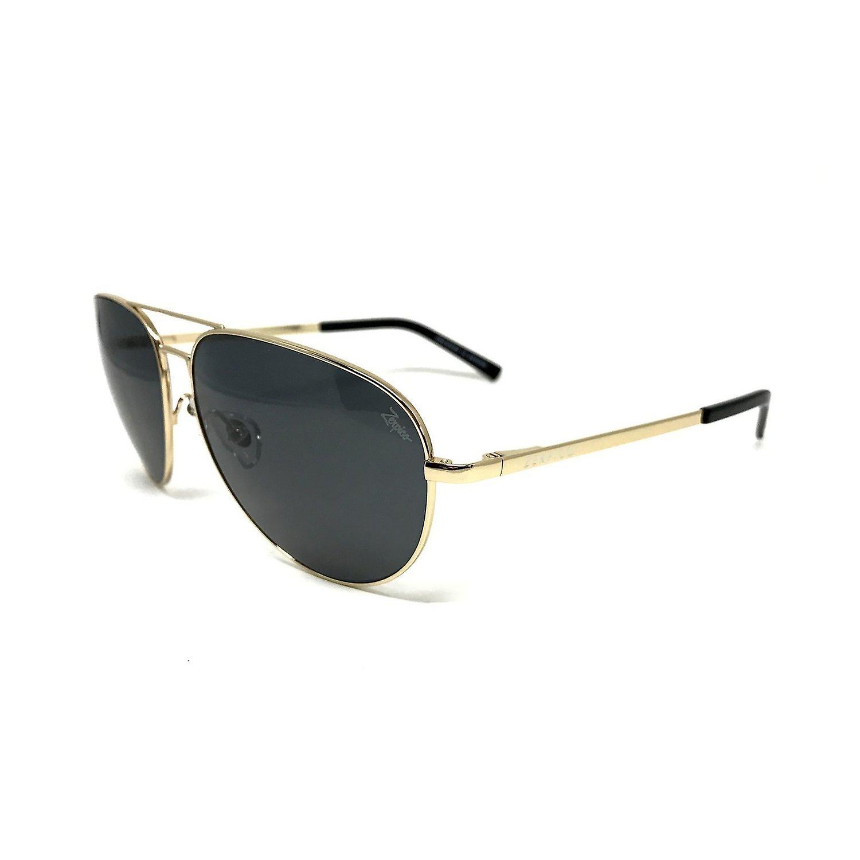 Titanium Aviator Sunglasses - TITAN - Gold