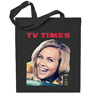 TV Times Honor Blackman 1964 Cover Totebag