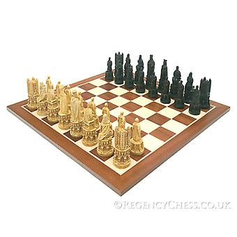 مجموعة الشطرنج الماهوغاني في القرون الوسطى