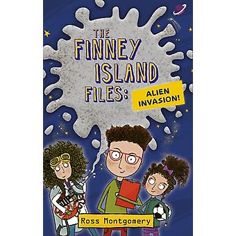 Reading Planet KS2  The Finney Island Files Alien Invasion by Ross Montgomery