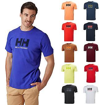 Helly Hansen Mens 2020 Classic Koszulka z bawełnianymi logo z krótkim rękawem