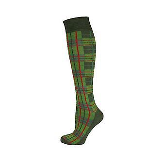 Knee High Socks Black Striped