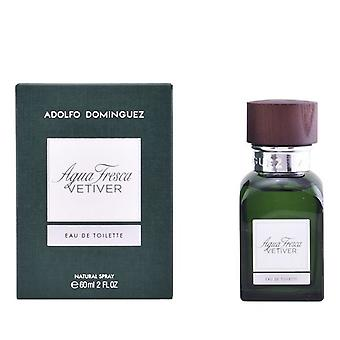 Miesten ' s haju vesi Agua Fresca Vetiver Adolfo Dominguez EDT (60 ml)