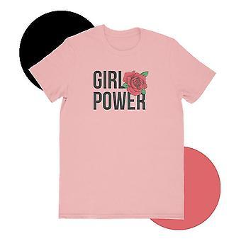 Girl power pink t-shirt