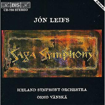 J. Leifs - J N Leifs: Importación de Estados Unidos Sinfonía Saga [CD]