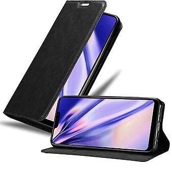 Cadorabo tapauksessa Vivo Y81i tapauksessa tapauksessa kansi - matkapuhelin tapauksessa magneettinen lukko, seistä toiminto ja korttiosasto - Case Cover suojakotelo tapauksessa Kirja Folding Style