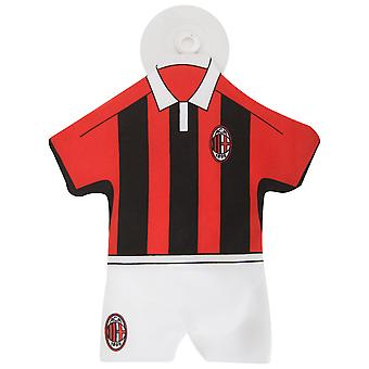 AC Milan Official Mini Football Kit Car Window Hanger