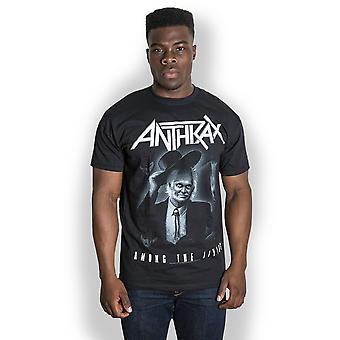 Anthrax Among The Living Scott Ian Thrash Metal Official T-Shirt