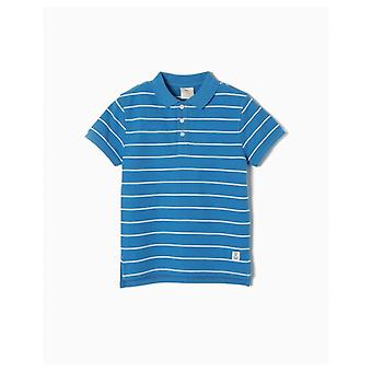 Zippy Polo Kurzarm Blue Streaks