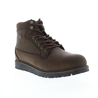 Lugz Bedrock HI  Mens Brown High Top Lace Up Casual Dress Boots