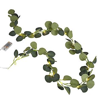 Artificial Eucalyptus Light Garland - Wedding Foliage 2m