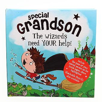 History & Heraldry Magical Name Storybook - Special Grandson