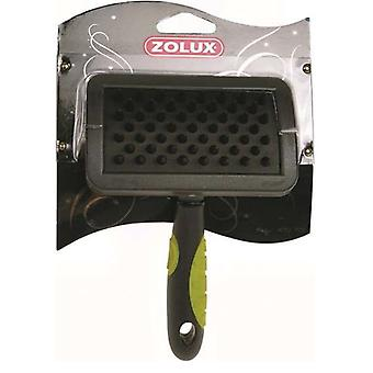 Zolux ZOLUX CARDA stora GUMMIBORSTE (hundar, Grooming & välbefinnande, borstar & kammar)