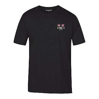 Hurley Men's T-Shirt - PRM Mingos schwarz