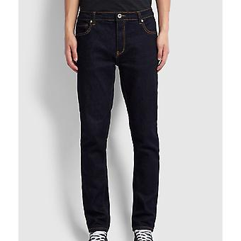 Farah Daubeney Tapered Fit Strech Jeans - Rinçant