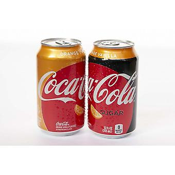 Coca Cola Us Orange Vania -( 591 Ml X 1 Bottles )