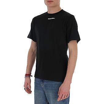 Goldene Gans G36mp524b2 Männer's schwarze Baumwolle T-shirt