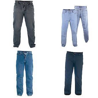 Duc Mens Rockford Kingsize Comfort Fit Jeans