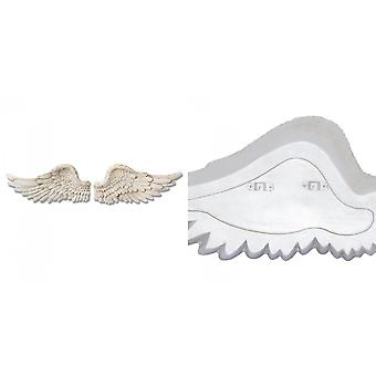 Hill Interiors Set Of Two Antique Angel Wings