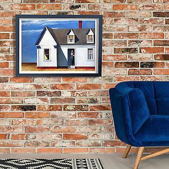 Edward Hopper - High Noon Poster Print Giclee