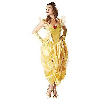 Disney Princess Womens/Ladies Belle Costume