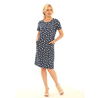 POMODORO Pomodoro Blue Dress 12016