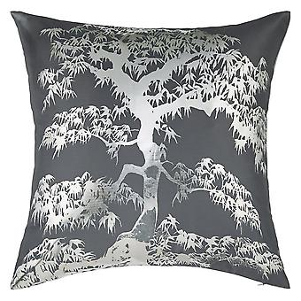 004768 - Meili Gunmetal Cushion - Arthouse Home Decor