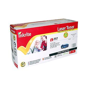 Inkrite Laser Toner Cartridge compatible with Canon FX7 Black