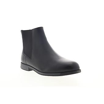 Camper Bowie  Womens Black Leather Slip On Chelsea Boots