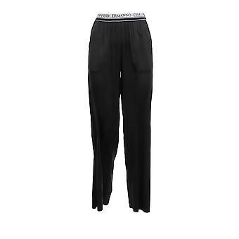 Ermanno Scervino Pl04ras99 Women's Black Cotton Pants