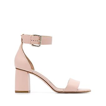 Red Valentino Tq2s0a47fnsn17 Women's Nude Leather Sandals
