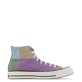 Converse 166317c319 Men's Multicolor Cotton Hi Top Sneakers