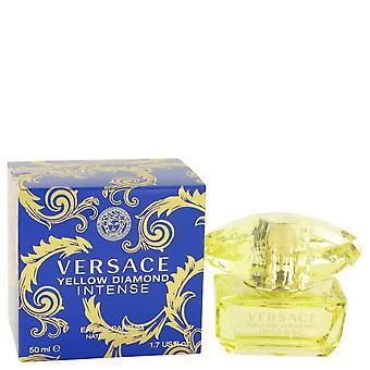 Versace giallo diamante intenso eau de parfum spray da versace 531031 50 ml