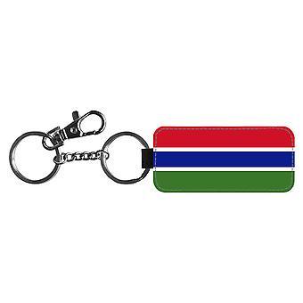 Gambia jelző kulcstartó