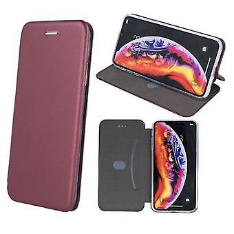 Samsung Galaxy A51 - Smart Diva Fodral Mobilplånbok - Vinröd
