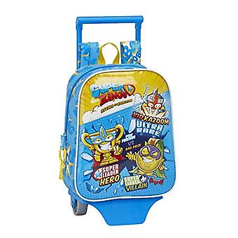 SuperZings - Official asylum backpack with Safta trolley - 220 x 100 x 270 mm