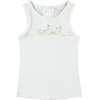 Name-it Girls White Singlet Famila (Soleil)