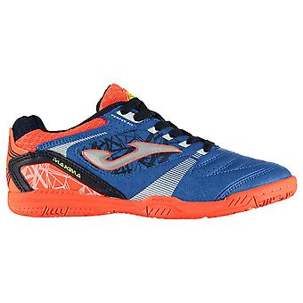 Joma Kids Maxima Junior Indoor Football Trainers Boots Lace Up Padded Ankle