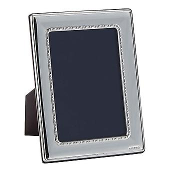 Orton West Detailed Edge Photo Frame 6x8 - Silver