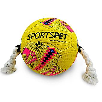 Sportspet Dog Football Toy With Handles