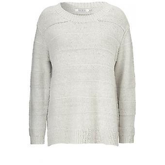 Masai Clothing Cream Fantasia A Shaped Sweater