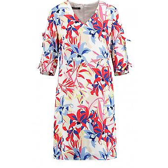 Taifun Bold Floral Print Shift Dress